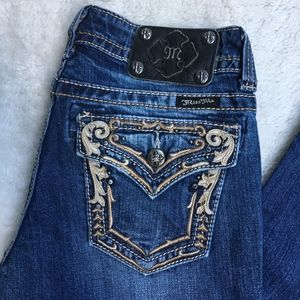 """Miss Me Bootcut Jeans Size 27x27.5"""""""